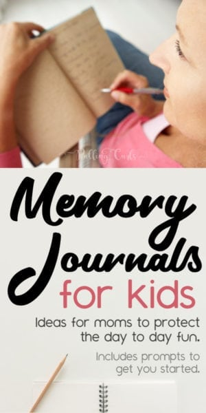 Memory Journals for Kids