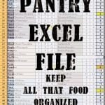 Pantry Inventory Excel Spreadsheet