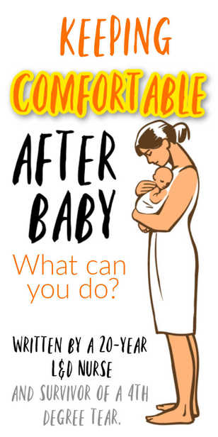 How can you stay comfortable after baby? via @pullingcurls