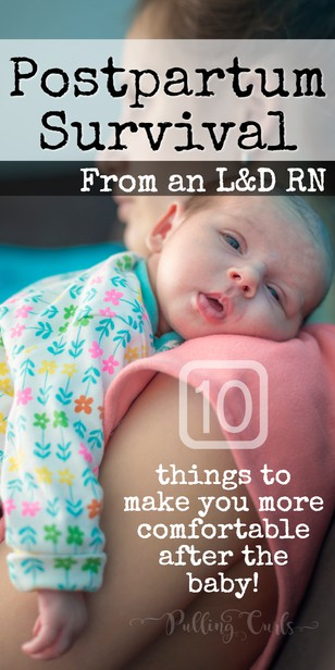 What can you do to stay more comfortable after the baby -- from a delivery nurse who knows what to do. #postpartum #pregnancy