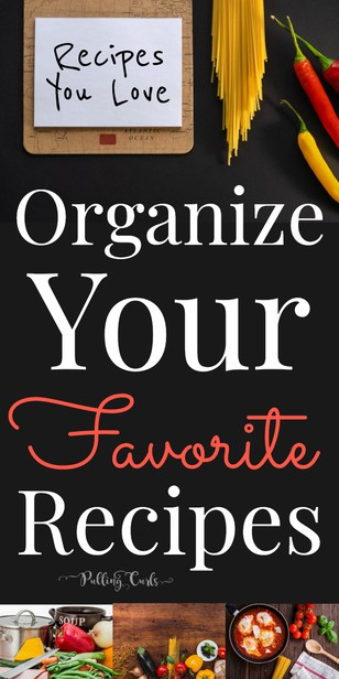 Organize your FAVORITE recipes into one spot for easy dinner! via @pullingcurls