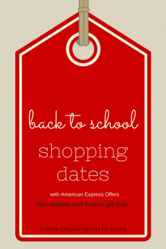 Shopping before school can be a valuable time to get insight into your child's thoughts on the new school year!