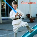 Make a Luke Skywalker Costume: Bonus Jedi Costume