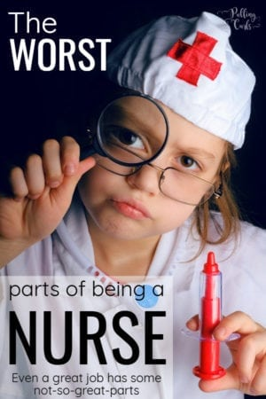 bad things about being a registered nurse