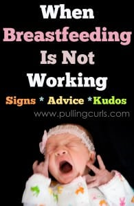 Sometimes breastfeeding doesn't work. It may be fixable, but it may not. Come find out more!