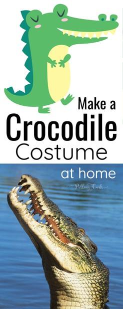 crocodile costume via @pullingcurls