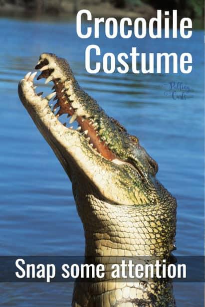 homemade crocodile costume