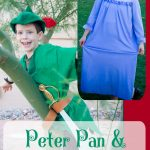 Make Peter Pan and Wendy Costumes