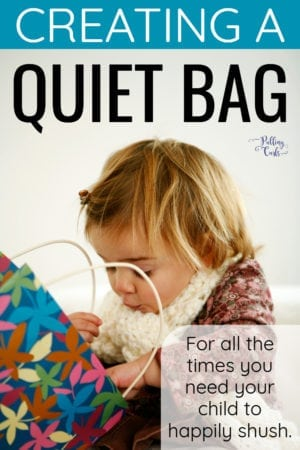 making a quiet bag