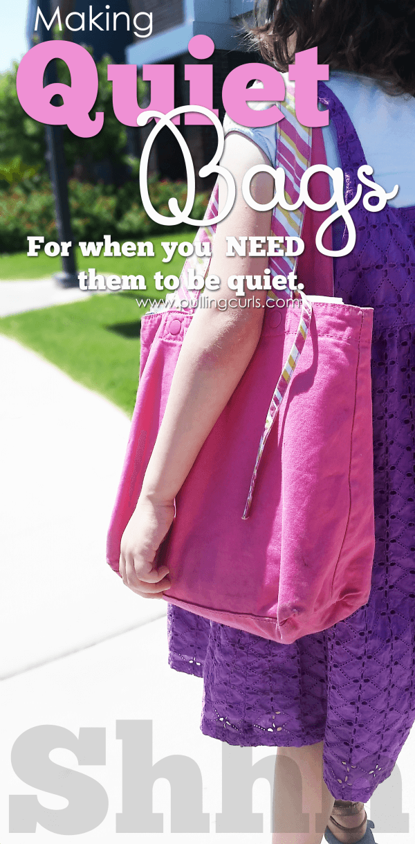 church bags for kids | quiet | toddlers | children | coloring | creating | making