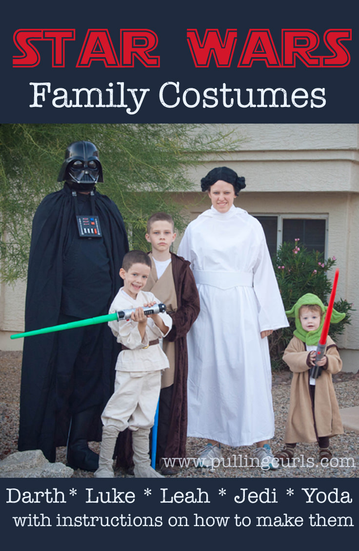 Family Star Wars Halloween Costumes