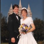 We were married in the Salt Lake Temple
