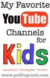 """Youtube is a great place for kids to take a small """"breather"""" from whatever they're doing and cuddle up with mom. Here's some of my favorite channels."""