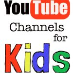 "Youtube is a great place for kids to take a small ""breather"" from whatever they're doing and cuddle up with mom. Here's some of my favorite channels."