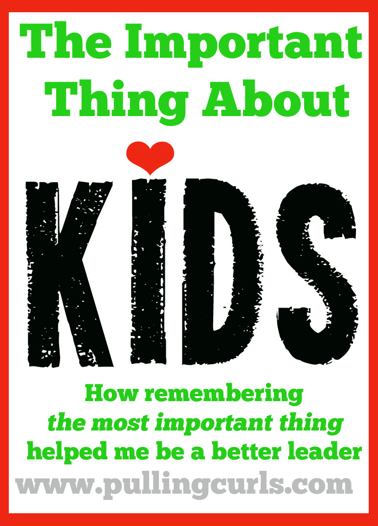 The most important thing about kids, and how it will change your priorities.