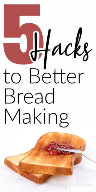 5 hacks for better bread making! via @pullingcurls