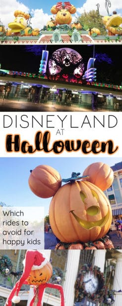 Disneyland is a premier destination for Halloween -- if you know what you're getting into.  Here are 5 things to know about Disneyland at Halloween include ride changes, decor and special events like Mickey's Halloween party!