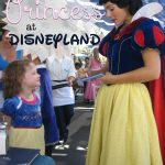 Being a Princess at Disneyland