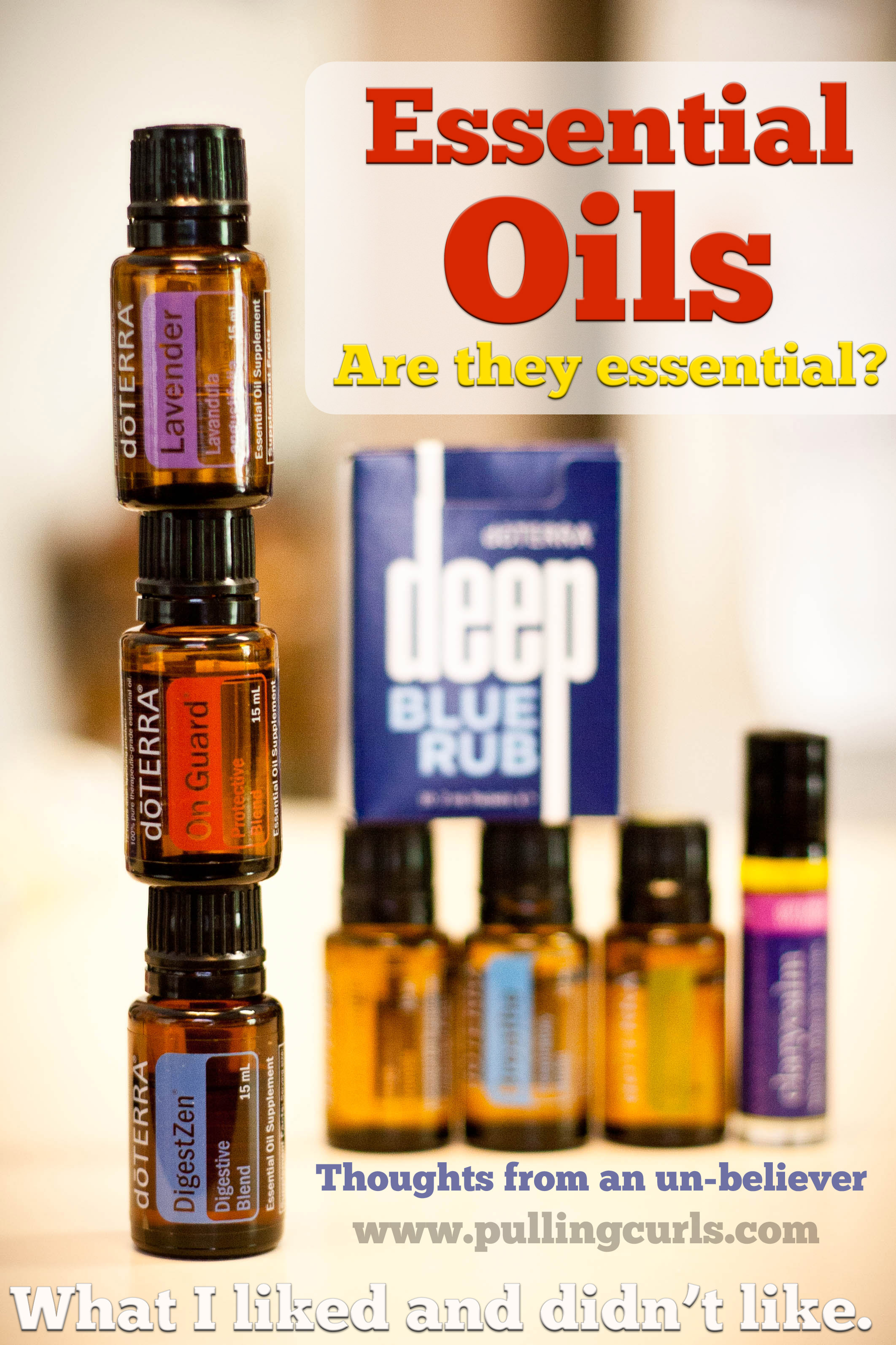 Do essential oils work? I bought some for myself, I don't sell them and I'm an RN. Do they work? Some did, some didn't -- come find out what I thought!