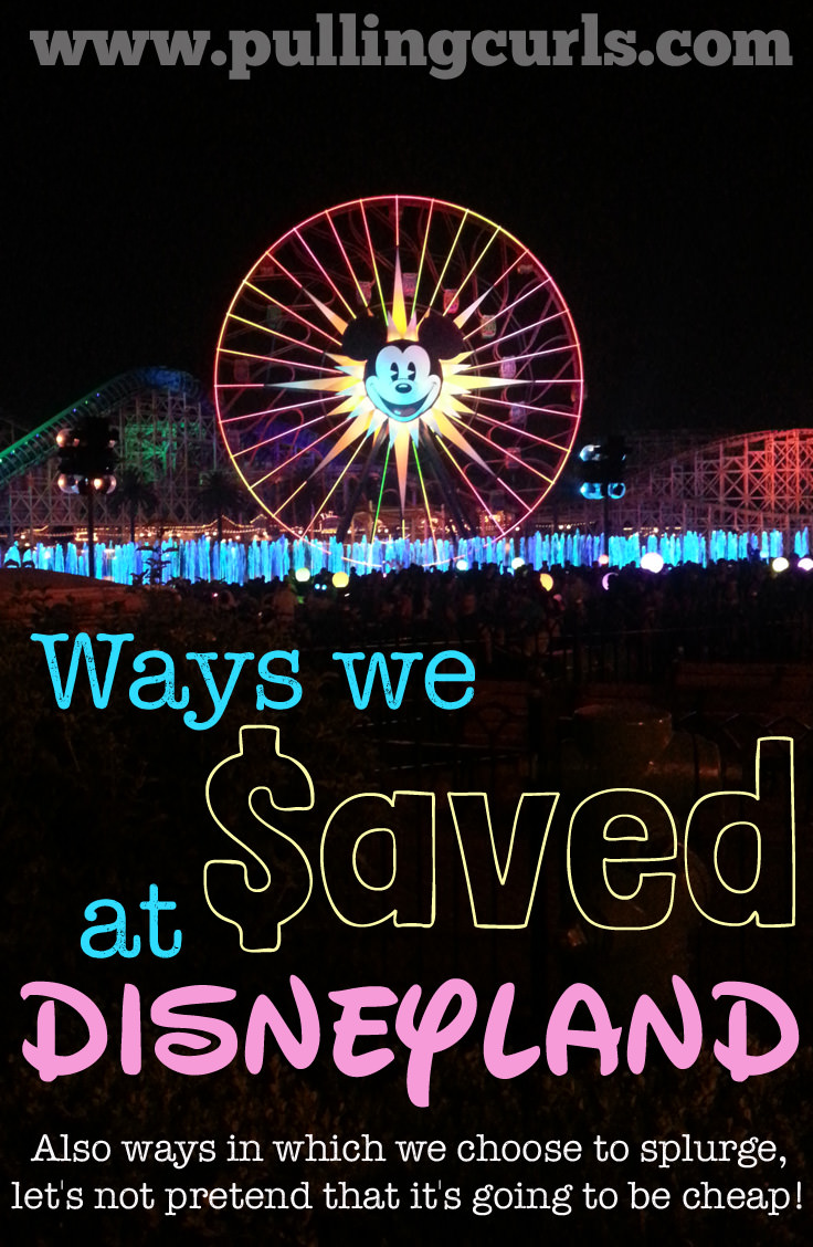 Ways I saved (and spent) at Disney. Read it! It might inspire some ways for you to save at Disney. {this does not include anything free -- Disney is expensive, don't fool yourself that it's a cheap trip!}