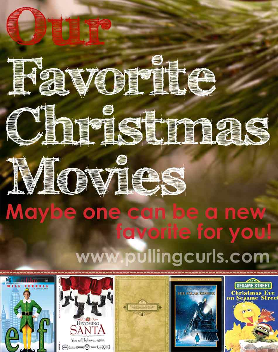 My Top 5 Christmas movies. Are yours on my list? I hope you'll find a new one you can love!
