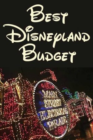 How Much Money Should I Budget for Disneyland?:  Plus how much spending money?