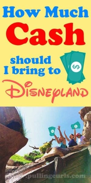 How much spending money for Disneyland