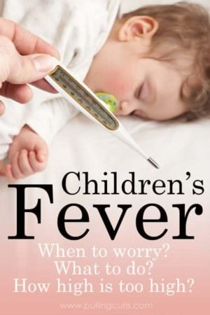 Children's Fever when do you worry?  High fever in children can be really disconcerting. We'll talk about unsafe fever temperature for kids