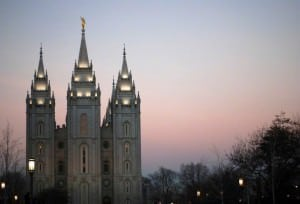 Salt Lake LDS Temple.