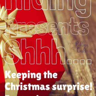 where to hide Christmas presents