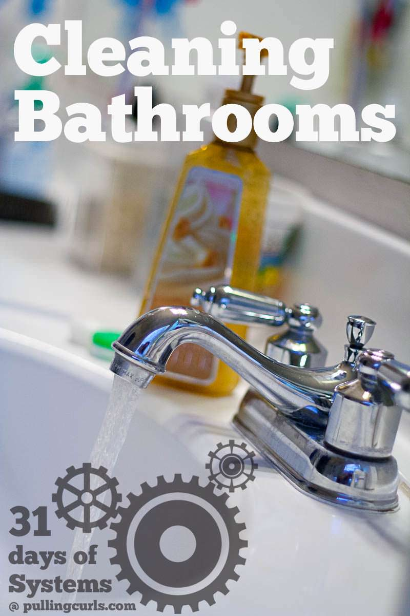 Cleaning bathrooms isn't my LEAST favorite task. Come find out why. :)