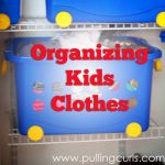 How Do I Organize Kids Clothes
