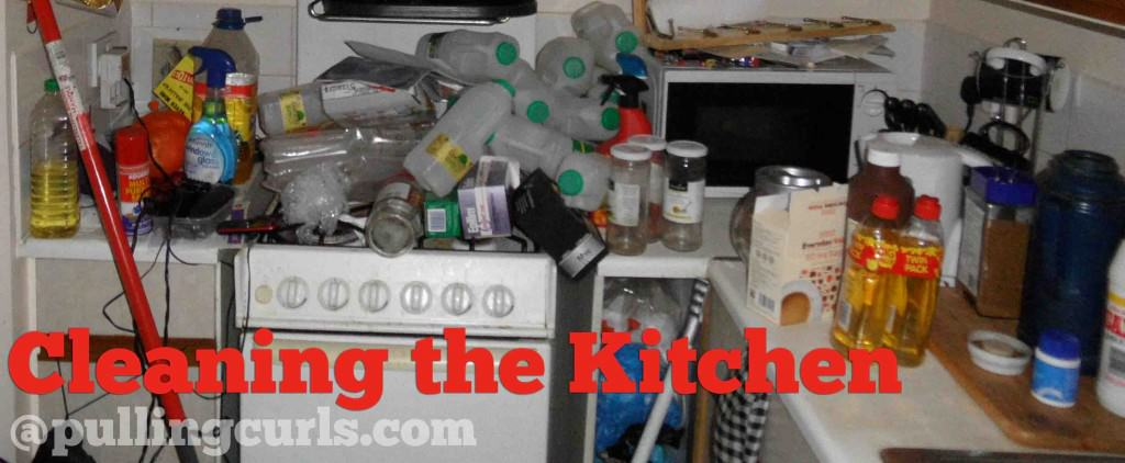 Cleanig the kitchen is a task on every mom's list. Here's some ideas on not being overwhelmed by it.