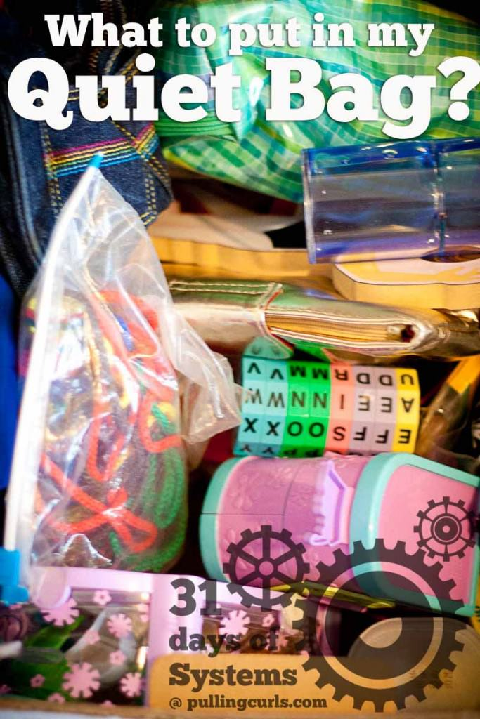 Toys For Church : How to create quiet bags for church or other meetings