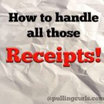 Organize Receipts!