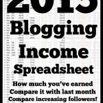 Updated Blog Income Spreadsheet