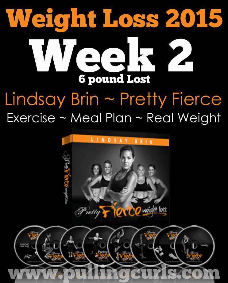 Come see how I earned my SIX pound loss after 2 weeks of Pretty Fierce!