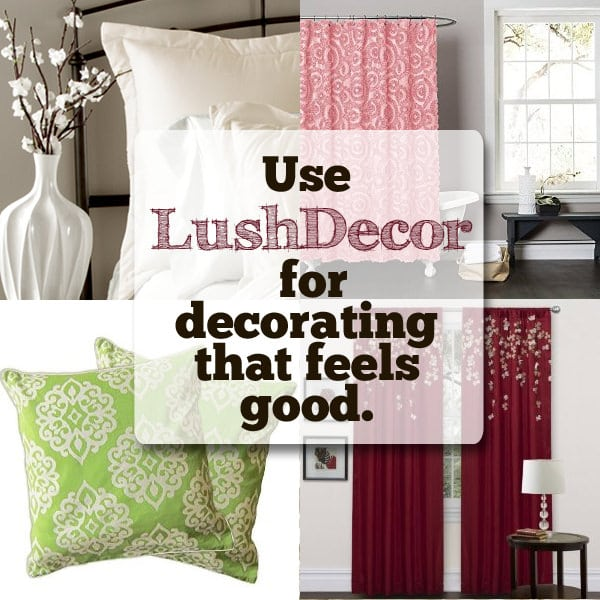 Use LushDecor to make your house comfy and cozy!
