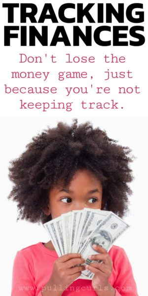 how to track finances