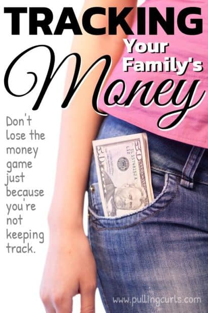 how to track your family's finances