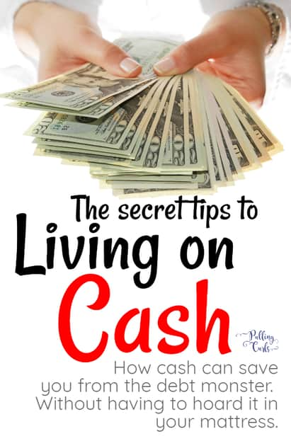 Living on cash takes a bit of finesse -- let's talk about what to do so that it's easy to say now when you're fresh out! #budget #cash #income