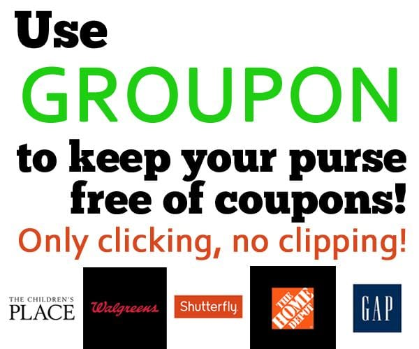 Use Groupon to help save you money, without the effort of traditional coupons!