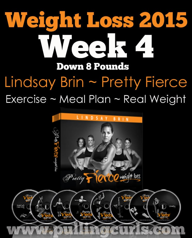 Pretty Fierce week 4 saw a good loss, and I still haven't lost my mind. yay! :)