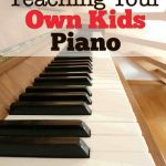 Teaching Your Own Kids Piano