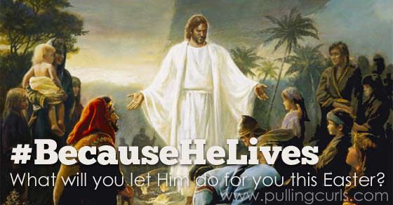 #becausehelives