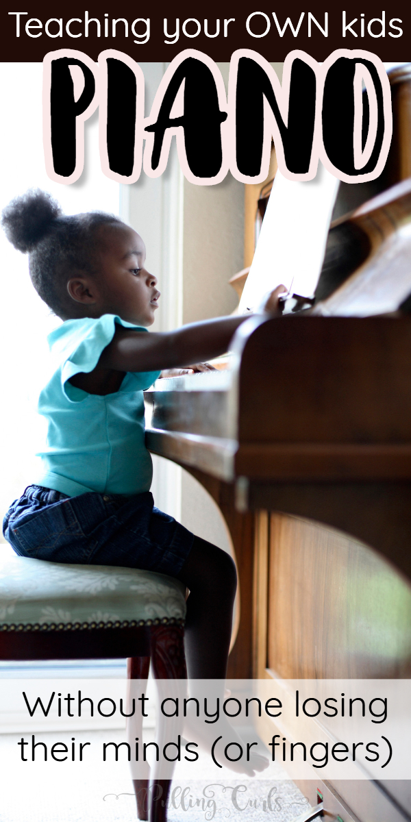 teaching your kids piano