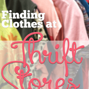 Finding clothes at thrift stores that match YOU may not seem as easy as it sounds. Here are some tips!