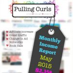 May 2015 Blog Income Report