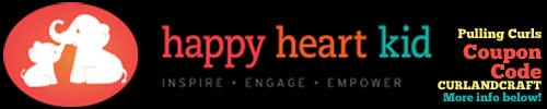 Happy Heart Kid Coupon Code: CURLANDCRAFT