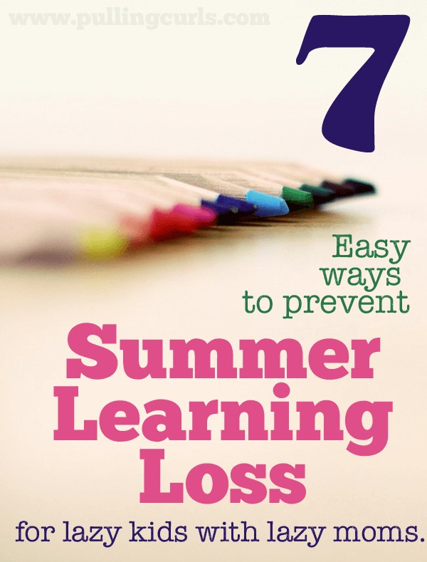 7 Tips to Prevent Summer Learning Loss